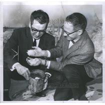 1967 Press Photo Charles P. Sauto and Roger R. Gay- RSA18597