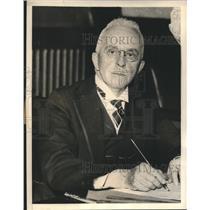 1936 Press Photo Wilbur L Cross, Former Dean of Yale Graduate School - sba18976
