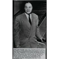 1950 Press Photo Dr. Ralph J. Bunche, first Negro professor in Harvard