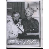 1963 Press Photo Dr. Linus Pauling and Wife, Ava Helen after winning Nobel Prize