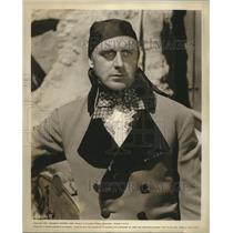 """1930 Press Photo John Dehner, """"Last of the Buccaneers"""" - nox15874"""