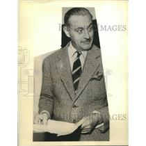 1936 Press Photo Actor John Barrymore was mentioned in Mary Astor's diary