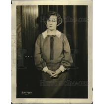 1925 Press Photo Mrs. Gorgon Geile, Chairman Junior League Play Committee