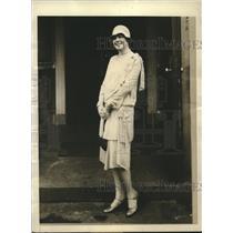 1929 Press Photo Mrs Walter Colquitt Fain announces candidacy for VA Lt Governor