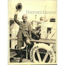 1933 Press Photo Hanji Obi Director of the Boy Scout Movement in Japan