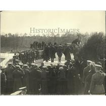 1921 Press Photo Memorial for the Unknown Soldier at Arlington Cemetery