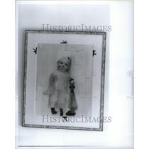 1988 Press Photo Art Painting Ellen Phelan Doll Work - RRU63099