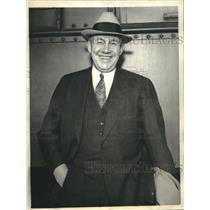 1934 Press Photo Donald Richard Head Man of NRA Debates with Senator Dickinson
