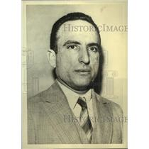 1935 Press Photo Carlos Hevia, Ex-Cuban president flew in Miami Florida