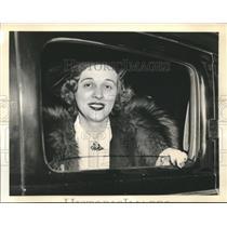 1938 Press Photo Kate Moog Busch at Nazi Spy Ring Trial in New York - sba21765