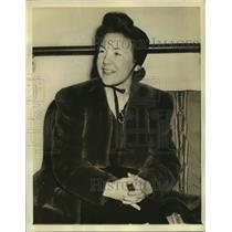 1940 Press Photo Miss Virginia Faith Davis haled into court as a spy suspect