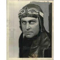 1928 Press Photo Assistant pilot Harold I. June poses for portrait - mjx44008