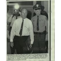 1968 Press Photo Pilot of hijacked plane, Donald W. Doran, back from Cuba