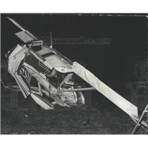 1974 Press Photo Couple Killed in Bessemer Airport, Crash, Alabama - abna10215