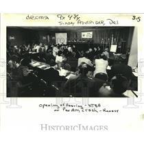 1982 Press Photo Opening of Hearing on Pan Am Flight 759 Crash - noa88815