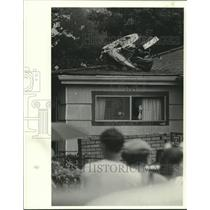 1982 Press Photo Pan Am World Airways Flight 759 Crash site - noa90941