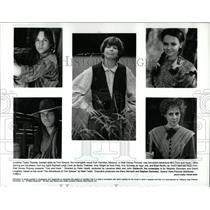 Press Photo Walt Disney Pictures Tom And Huck - RRW93747