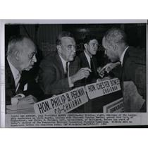 1960 Press Photo Civil Rights Chairman Roy Wilkins - RRX22519