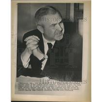 1958 Press Photo Y.W. Bateson owner of the Dallas Rangers - sba23082