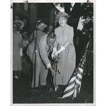 1949 Press Photo George W Stark Fred T Murphy Detroit - dfpb13039