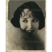 1924 Press Photo Bebe Doniela - nox16208