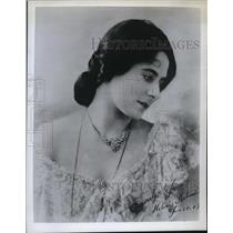 1905 Press Photo Helena Rubinstein when she first started her business.