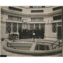 1930 Press Photo Regents Park Chapel converted into Red Cross Clinic