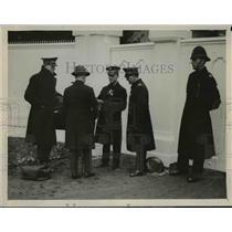 1929 Press Photo Salvation Army High Council gathering at Sunbury Court