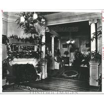 1913 Press Photo William Gray Sears Home Parlor, Christ Church Cathedral Founder