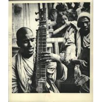 1930 Press Photo India, Musician in Madras - mjb81914