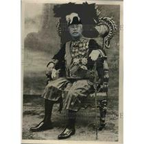 1927 Press Photo King Sesowath of Cambodia - mjx44239