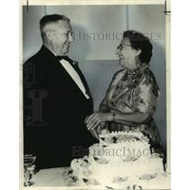 1863 Press Photo Mr. and Mrs. Richard Dugas mark their Golden Wedding Annivesary