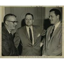 1959 Press Photo Leading participants of Air Transport Association of America