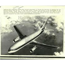 1970 Press Photo The European Airbus A330B shown in artist's concept.
