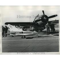 1973 Press Photo Aircraft at Air Carnival, New Orleans - not01379