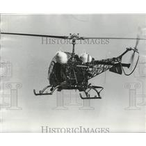 1977 Press Photo Sheriff Department's Helicopter, Jefferson County, Alabama