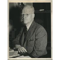 1940 Press Photo Rep J Hyde Sweet after he was sworn in as Nebraska Rep