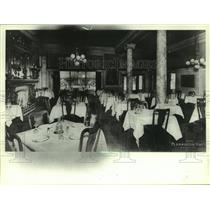1908 Press Photo The Plankinton House (Hotel) dinning room in 1908, Milwaukee.
