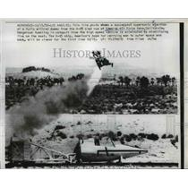 1958 Press Photo Successful supersonic Ejection from X-15 sled at Edwards Base