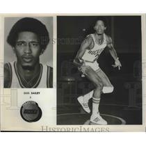 Press Photo Houston Rockets basketball player Gus Bailey - sas02297