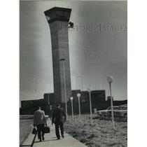 1967 Press Photo Control Tower at Huntsville Airport, Alabama - abna14373