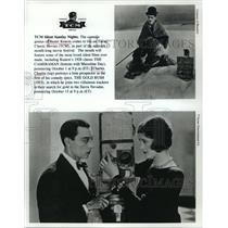 1928 Press Photo Scenes from The Cameraman and The Gold Rush, 1925 film.
