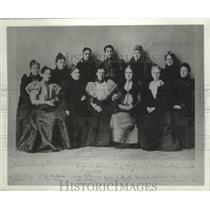 1897 Press Photo Founding leaders National Parent Teacher Association (PTA)