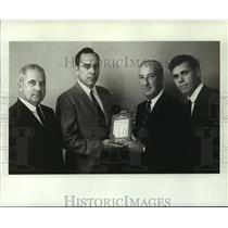 1969 Press Photo Alber & Flint- Boeing Employee - nob05517
