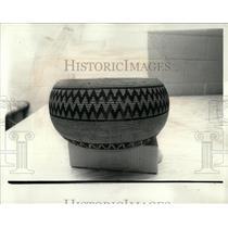 1977 Press Photo A Native American Bowl - RRW64547