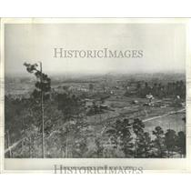 1895 Press Photo View of the Gadsden valley from Belle View, Alabama