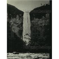 1939 Press Photo British Guiana waterfall found by Union College NY Professor