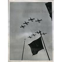 1951 Press Photo German-based American Jet Fighter Planes in Western Europe