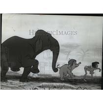 1967 Press Photo A scene from Walt Disney's The Jungle Book. - mjp10304