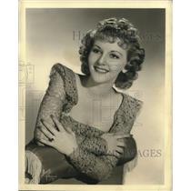 1940 Press Photo Actress and Singer Mary Martin - lrz00281